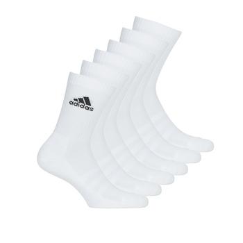 Accessoires Chaussettes de sports adidas Performance CUSH CRW 6PP Blanc