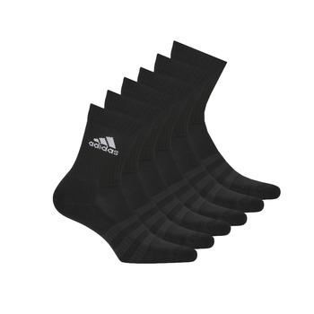 Accessoires Chaussettes de sports adidas Performance CUSH CRW 6PP Noir