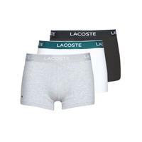Sous-vêtements Homme Boxers Lacoste 5H3389-NUA Noir / Blanc / gris