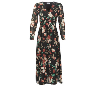 Vêtements Femme Robes longues Betty London NOISETTE Noir / Multicolore