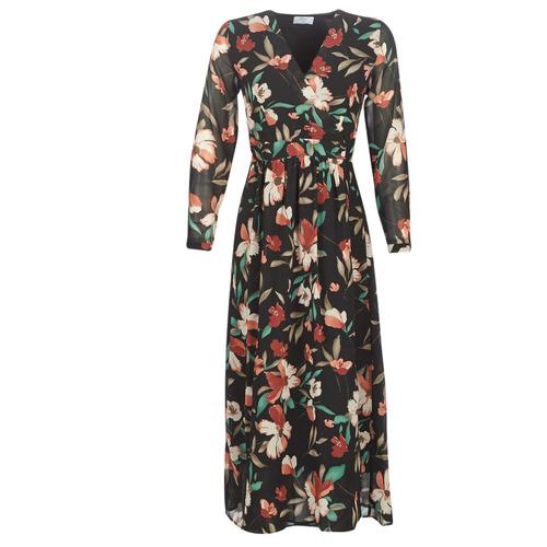 Vêtements Femme Robes longues Betty London NOISETTE Noir / Multicolore