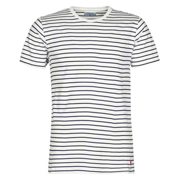 Vêtements Homme T-shirts manches courtes Casual Attitude KINO Marine / Blanc