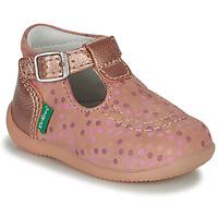 Chaussures Fille Sandales et Nu-pieds Kickers BONBEK-3 Rose / Pois