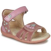 Chaussures Fille Sandales et Nu-pieds Kickers BICHETTA Rose