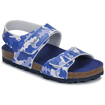 Chaussures Garçon Sandales et Nu-pieds Kickers SUMMERKRO Bleu