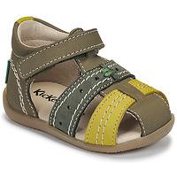Chaussures Enfant Sandales et Nu-pieds Kickers BIGBAZAR-3 Vert
