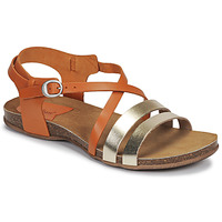 Chaussures Femme Sandales et Nu-pieds Kickers ANATOMIUM Camel / Doré