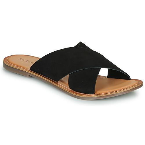 Chaussures Femme Mules Kickers DIAZ-2 Noir