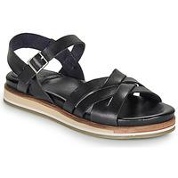 Chaussures Femme Sandales et Nu-pieds Kickers OLIMPIK Noir