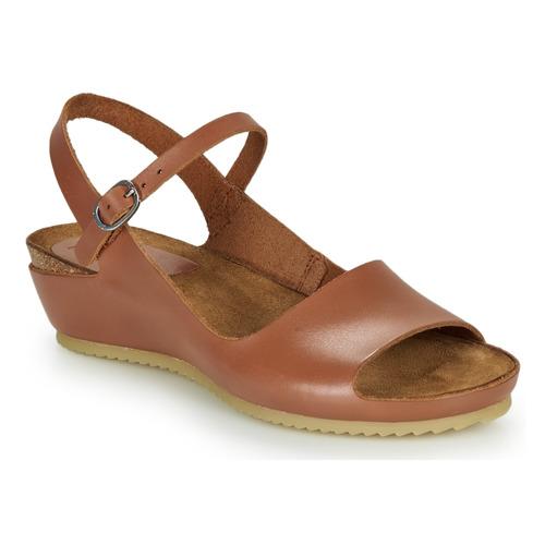 Chaussures Femme Sandales et Nu-pieds Kickers TAKIKA Marron