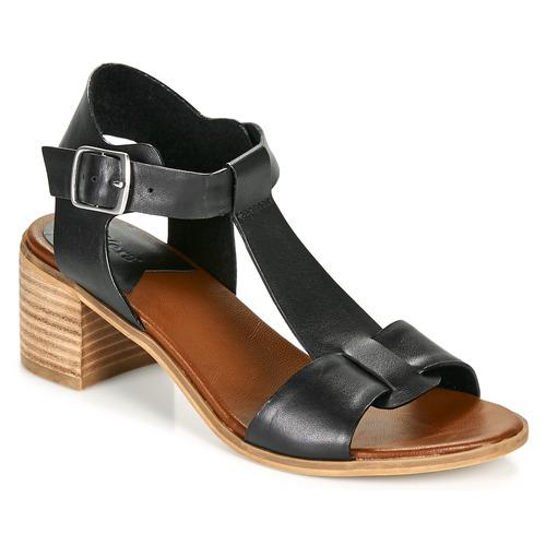 Chaussures Femme Sandales et Nu-pieds Kickers VALMONS Noir