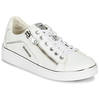 Chaussures Femme Baskets basses Mustang 1300-303-121 Blanc / Argent