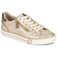 Chaussures Femme Baskets basses Mustang ANIKA Doré