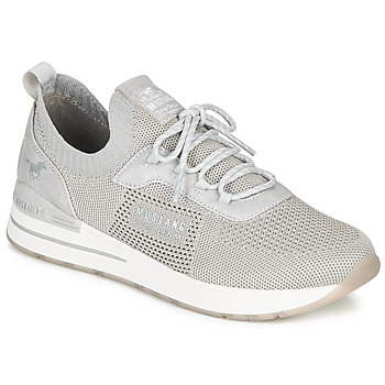 Chaussures Femme Baskets basses Mustang 1352303-2 Gris