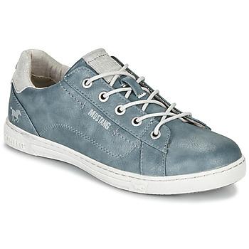 Chaussures Femme Baskets basses Mustang 1349301-875 Bleu