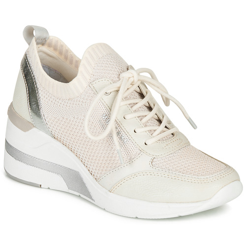 Chaussures Femme Baskets basses Mustang BLANCOT Blanc