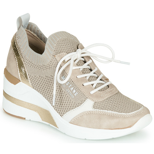 Chaussures Femme Baskets basses Mustang BLANCOT Beige
