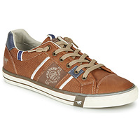 Chaussures Homme Baskets basses Mustang  Cognac