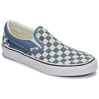 Chaussures Slip ons Vans CLASSIC SLIP-ON Bleu / Blanc