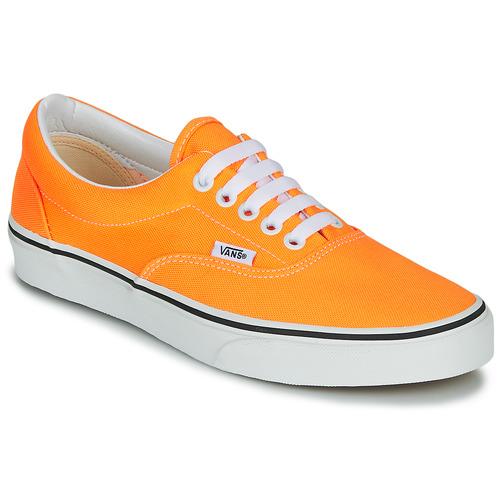 Chaussures Femme Baskets basses Vans ERA NEON Orange