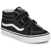 Chaussures Enfant Baskets montantes Vans SK8-MID REISSUE V Noir / Blanc