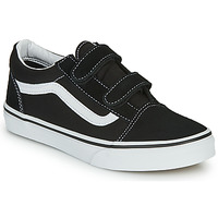 Chaussures Enfant Baskets basses Vans JN Old Skool V Noir / Blanc