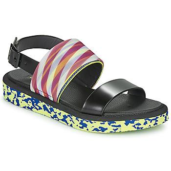Chaussures Femme Sandales et Nu-pieds United nude OP SANDAL LO Noir / Jaune