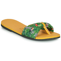 Chaussures Femme Tongs Havaianas YOU SAINT TROPEZ Jaune / Vert