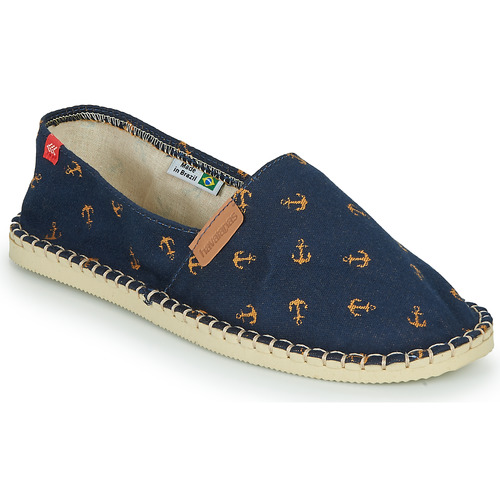 Chaussures Espadrilles Havaianas ORIGINE BEACH Marine