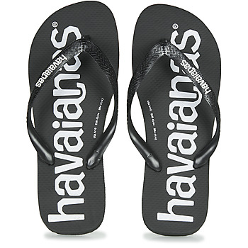 Chaussures Homme Tongs Havaianas TOP LOGOMANIA BLACK