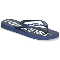 Chaussures Tongs Havaianas TOP LOGOMANIA NAVY BLUE