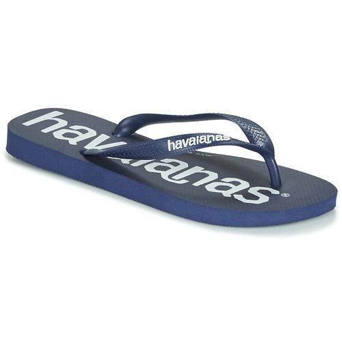 Chaussures Tongs Havaianas TOP LOGOMANIA Marine