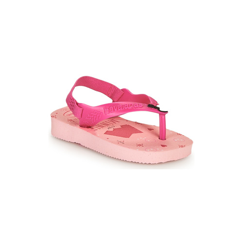 Chaussures Fille Tongs Havaianas BABY DISNEY CLASSICS II Rose