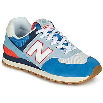 Chaussures Baskets basses New Balance 574 Blue / Grey / Orange