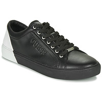 Chaussures Homme Baskets basses Guess LUISS Noir / Blanc
