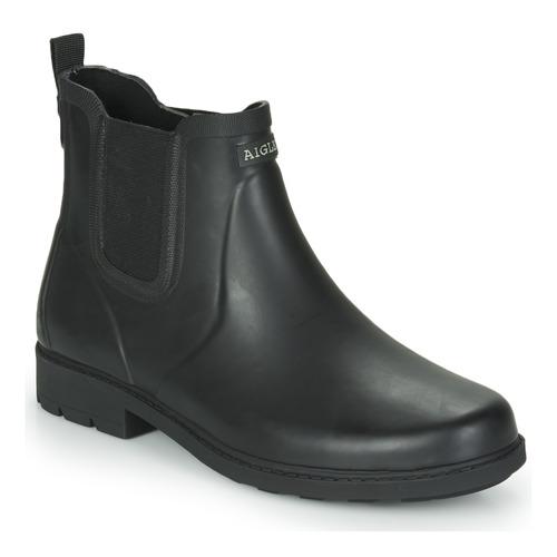 Chaussures Homme Bottes de pluie Aigle CARVILLE Noir