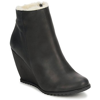 Chaussures Femme Bottines D.Co Copenhagen SALLY ZIPPER Black