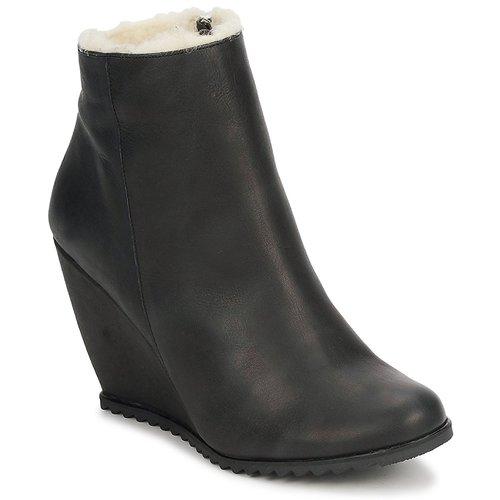 Chaussures Femme Bottines D.Co Copenhagen SALLY ZIPPER Black