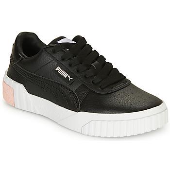Chaussures Fille Baskets basses Puma CALI Noir
