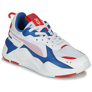 Chaussures Enfant Baskets basses Puma RS-X Blanc / Bleu / Rouge
