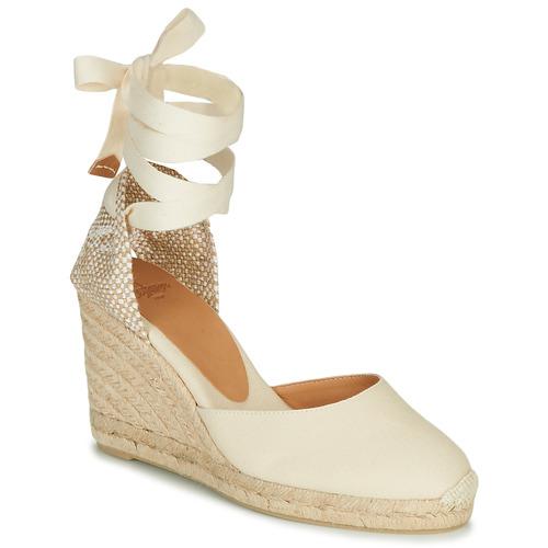 Chaussures Femme Sandales et Nu-pieds Castaner CARINA Crème
