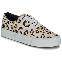 Chaussures Femme Baskets basses Superdry CLASSIC LACE UP TRAINER Leopard