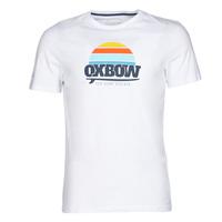 Vêtements Homme T-shirts manches courtes Oxbow M1TEKSO Blanc