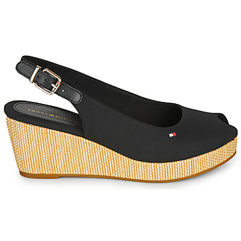 Sandales Tommy Hilfiger ICONIC ELBA SLING BACK WEDGE