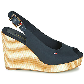 Sandales Tommy Hilfiger ICONIC ELENA SLING BACK WEDGE