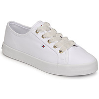 Chaussures Femme Baskets basses Tommy Hilfiger ESSENTIAL NAUTICAL SNEAKER Blanc