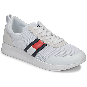 Chaussures Homme Baskets basses Tommy Jeans FLEXI TOMMY JEANS FLAG SNEAKER Blanc