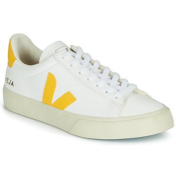 Chaussures Femme Baskets basses Veja CAMPO Blanc / Jaune