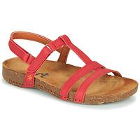Chaussures Femme Sandales et Nu-pieds Art I BREATHE Rouge