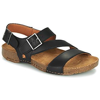 Chaussures Sandales et Nu-pieds Art I BREATHE Noir